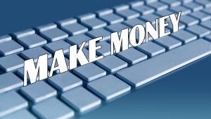 Make Money Computer Keyboard Image